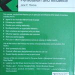Guide to managerial persuasion and influence